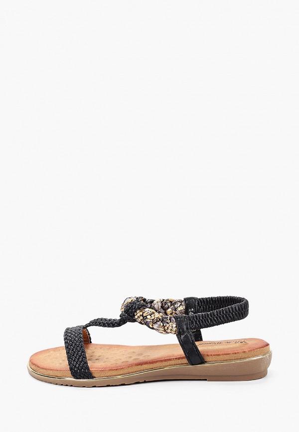 женские сандалии bellewomen, черные