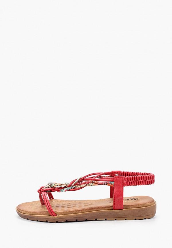 женские сандалии bellewomen, красные