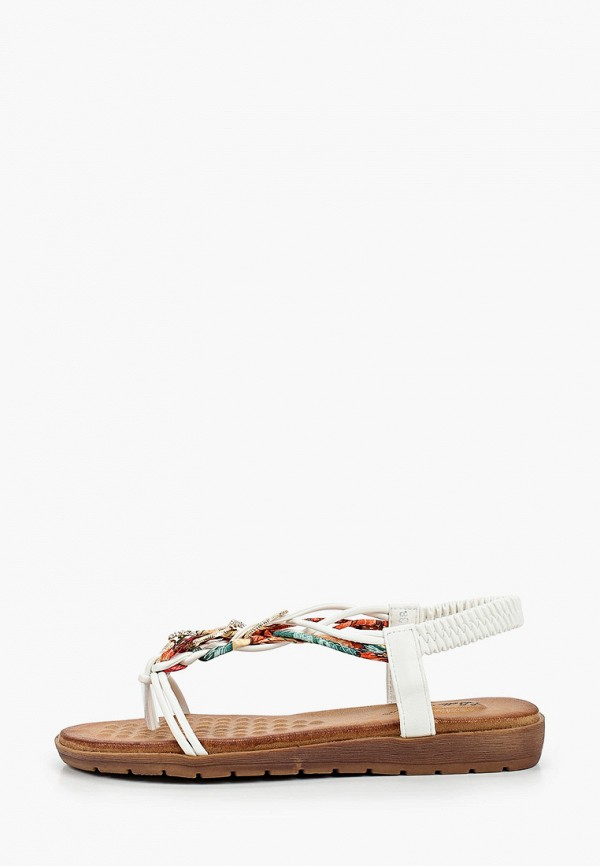 женские сандалии bellewomen, белые