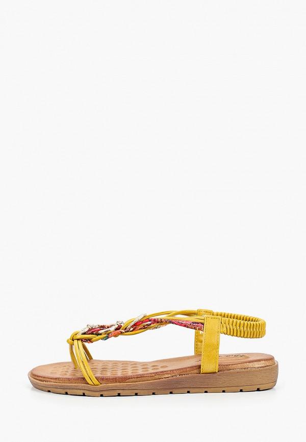 женские сандалии bellewomen, желтые