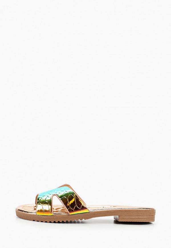 женское сабо bellewomen, разноцветное