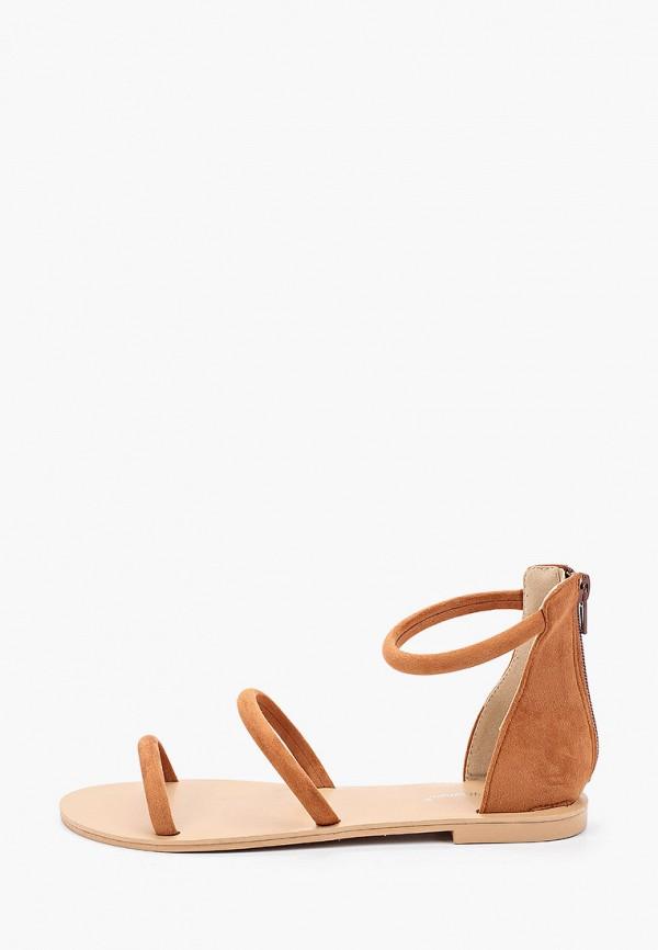 женские сандалии bellewomen, коричневые