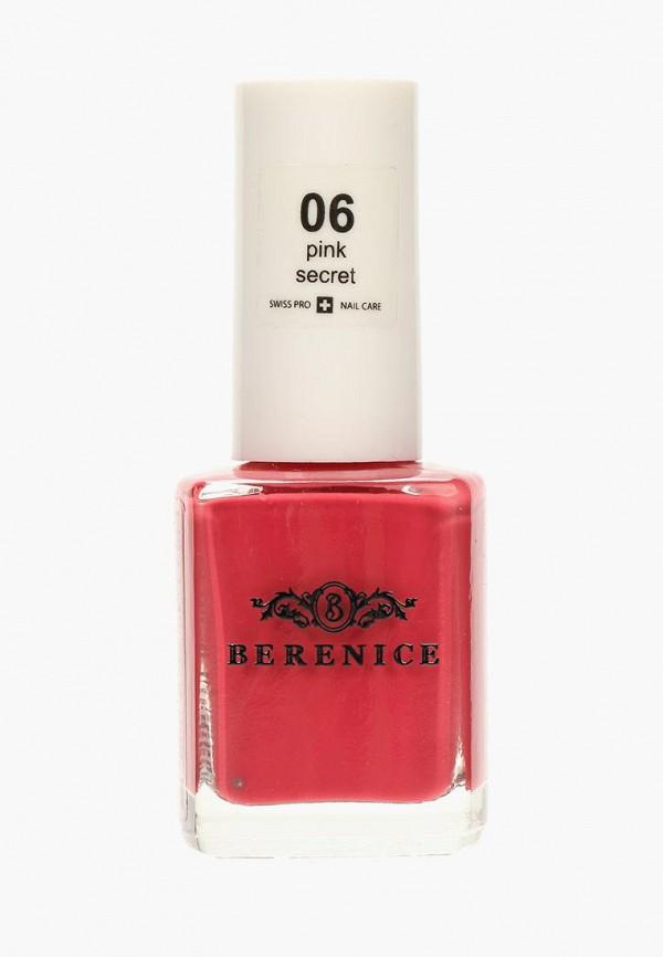 лак для ногтей berenice, розовый