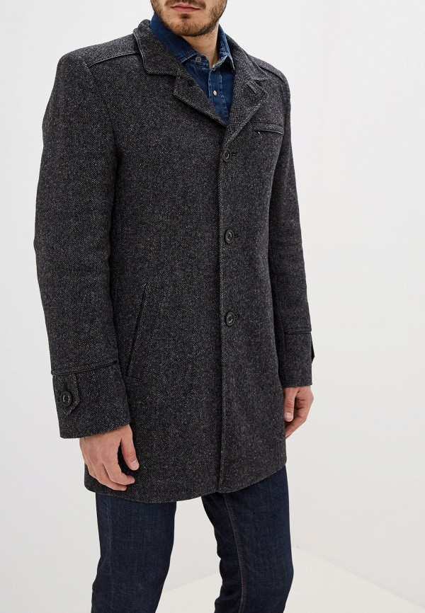 мужское пальто berkytt, серое
