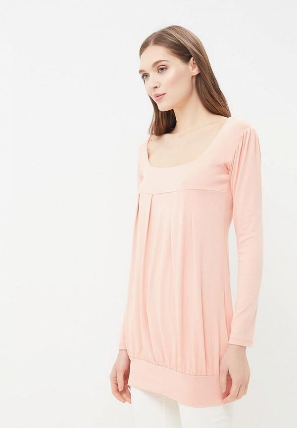 женская туника beyou, розовая