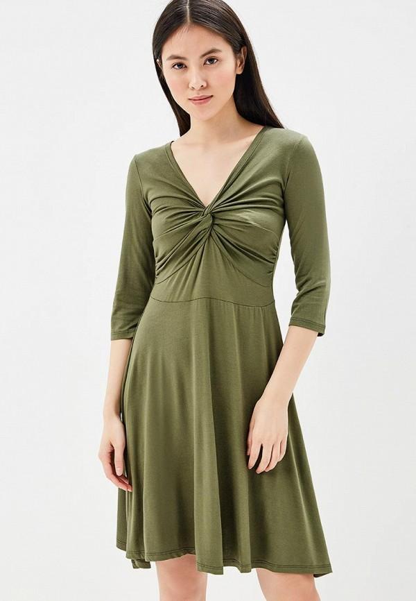 Купить Платье BEyou, be085ewbirq3, хаки, Весна-лето 2018