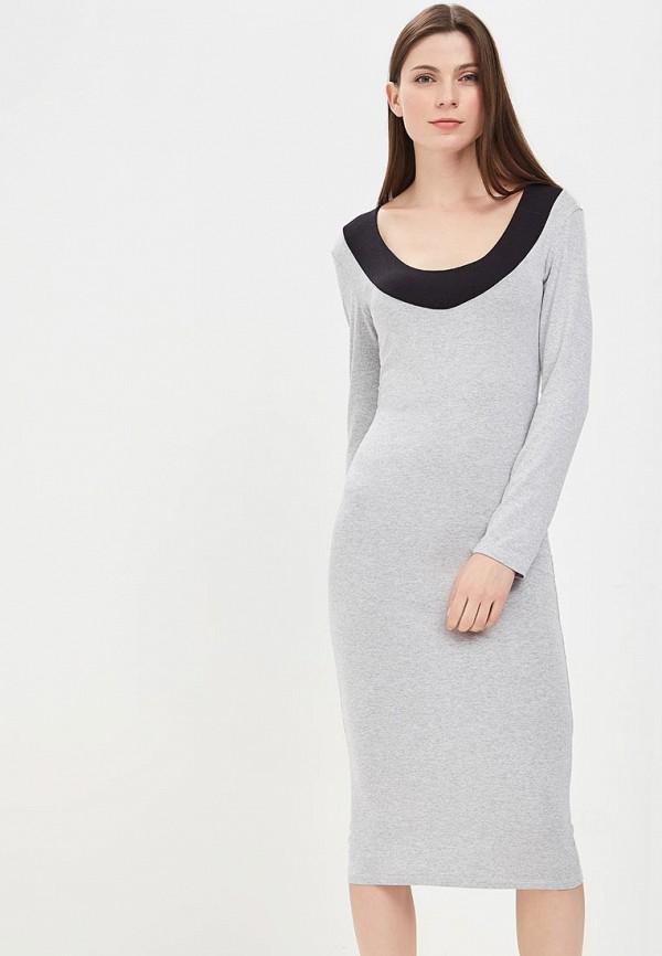 Купить Платье BEyou, be085ewbirt0, серый, Весна-лето 2018