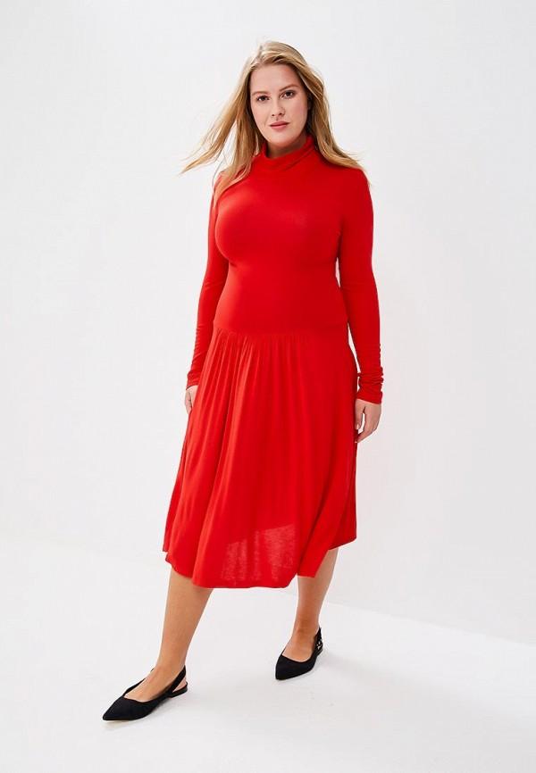 Купить Платье BEyou, be085ewbiru0, красный, Весна-лето 2018