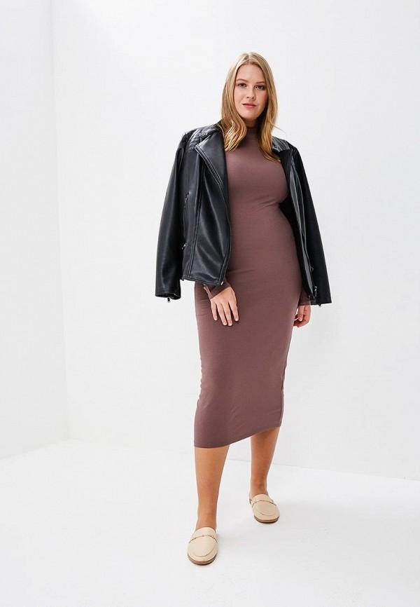 Купить Платье BEyou, be085ewbiru1, коричневый, Весна-лето 2018