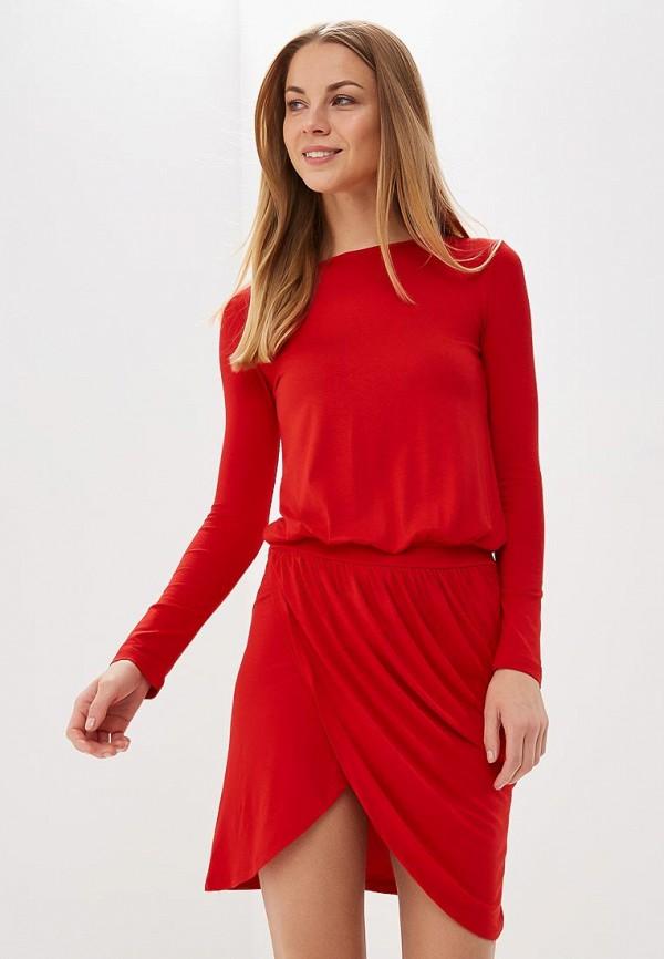 Купить Платье BEyou, be085ewbiru6, красный, Весна-лето 2018