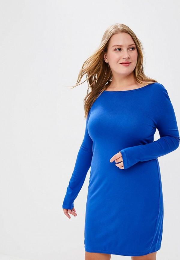 Купить Платье BEyou, be085ewbirv1, синий, Весна-лето 2018