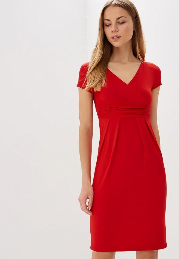 Купить Платье BEyou, be085ewbirw5, красный, Весна-лето 2018