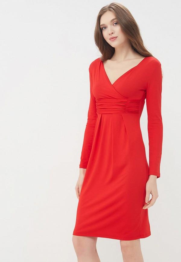 Купить Платье BEyou, be085ewbirx0, красный, Весна-лето 2018