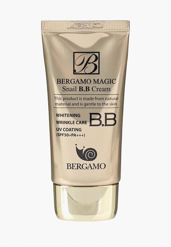 Купить BB-Крем Bergamo, с муцином улитки, 50 мл, BE087LWCROY5, бежевый, Осень-зима 2018/2019