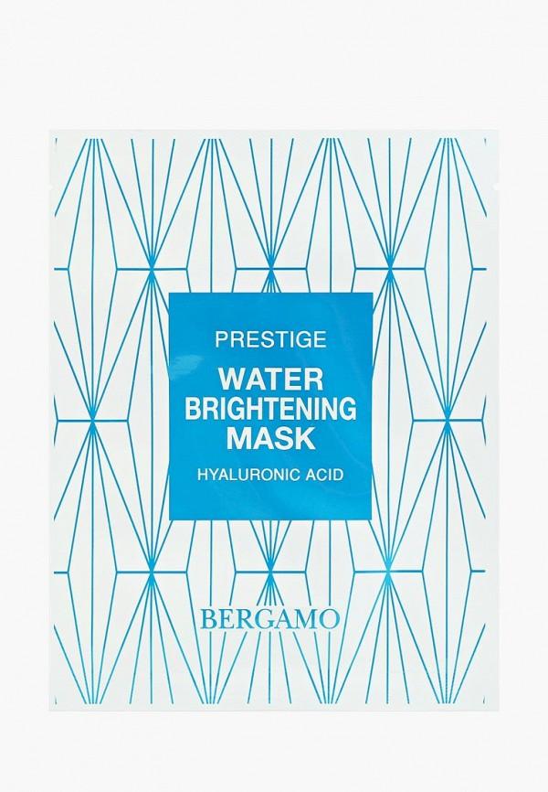 Купить Маска для лица Bergamo, для увлажнения и сияния кожи, 28 мл, be087lwfgzo2, белый, Весна-лето 2019