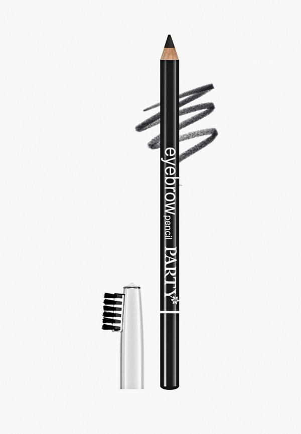 карандаш для бровей belordesign, серый