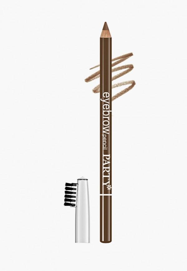 карандаш для бровей belordesign, коричневый