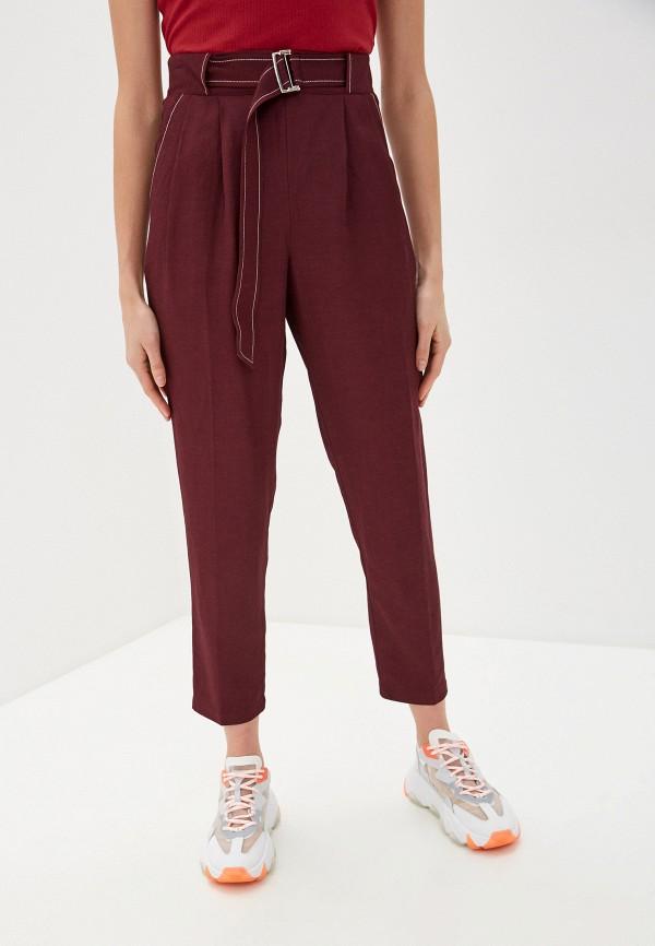 женские повседневные брюки beatrice.b, бордовые