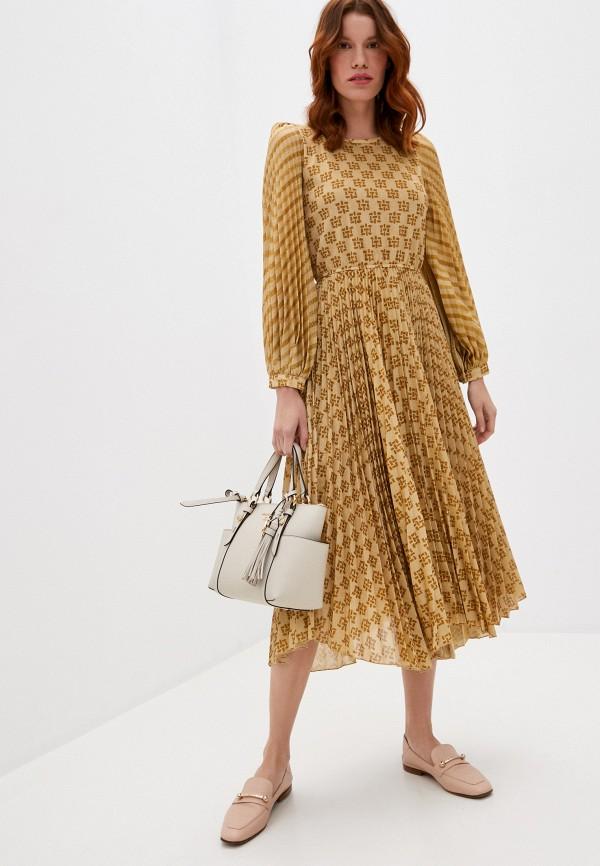 женское вечерние платье beatrice.b, золотое