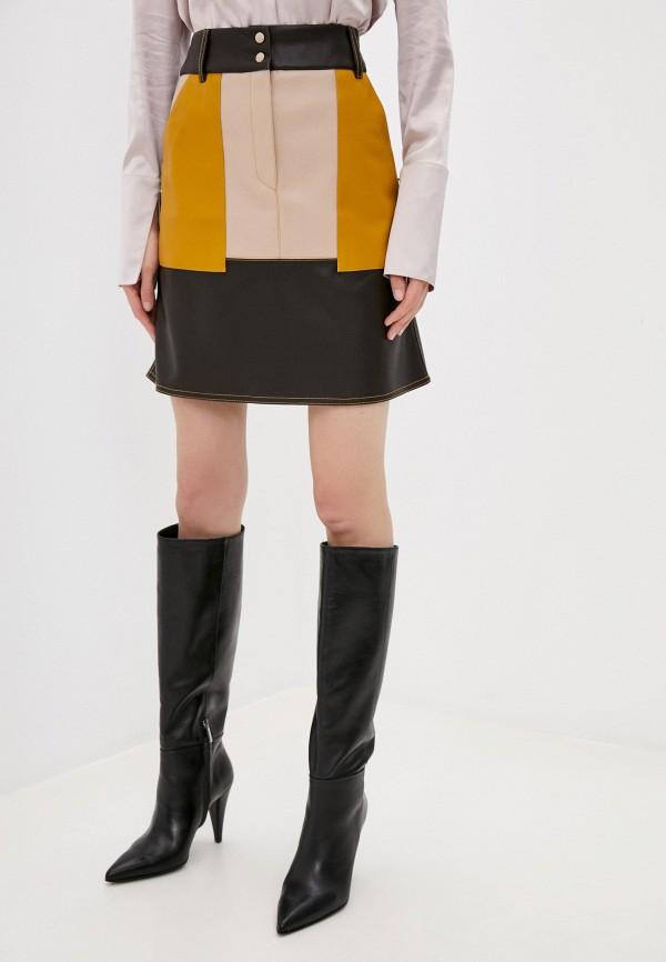 женская юбка beatrice.b, коричневая