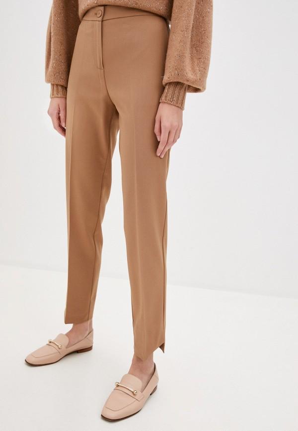 женские классические брюки beatrice.b, бежевые