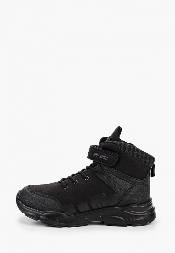 кроссовки berten для мальчика, черные