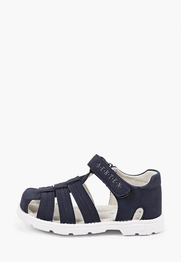 сандалии berten для мальчика, синие