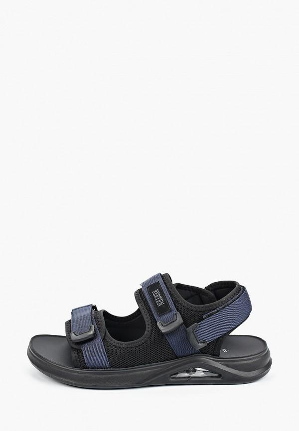 мужские сандалии berten, синие