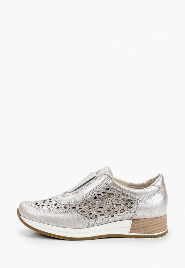 женские ботинки belwest, серебряные