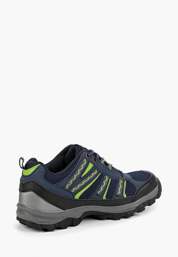 Фото 2 - Ботинки трекинговые Beppi синего цвета