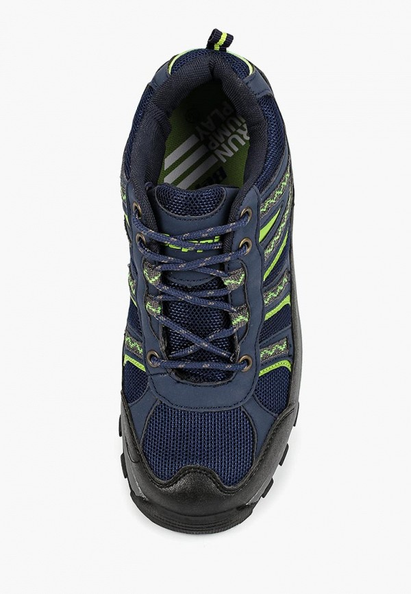 Фото 4 - Ботинки трекинговые Beppi синего цвета
