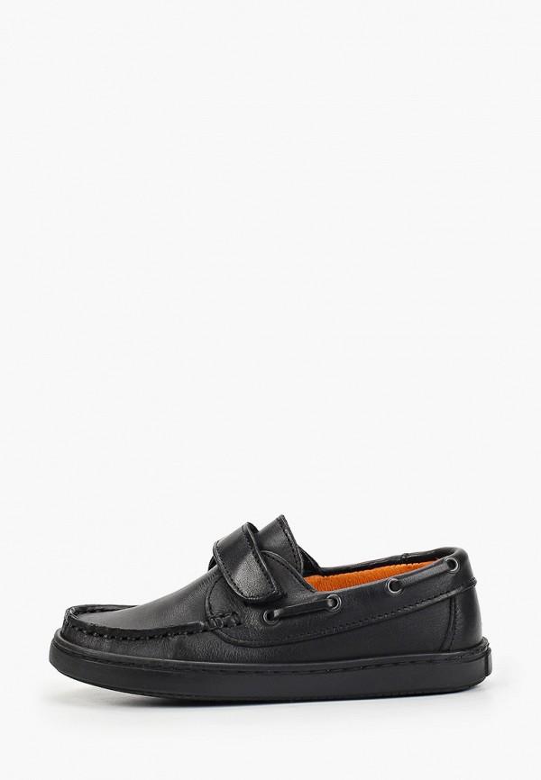 туфли beppi для мальчика, черные
