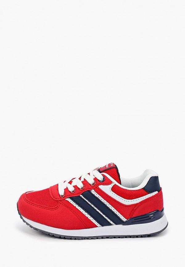 кроссовки beppi для мальчика, красные