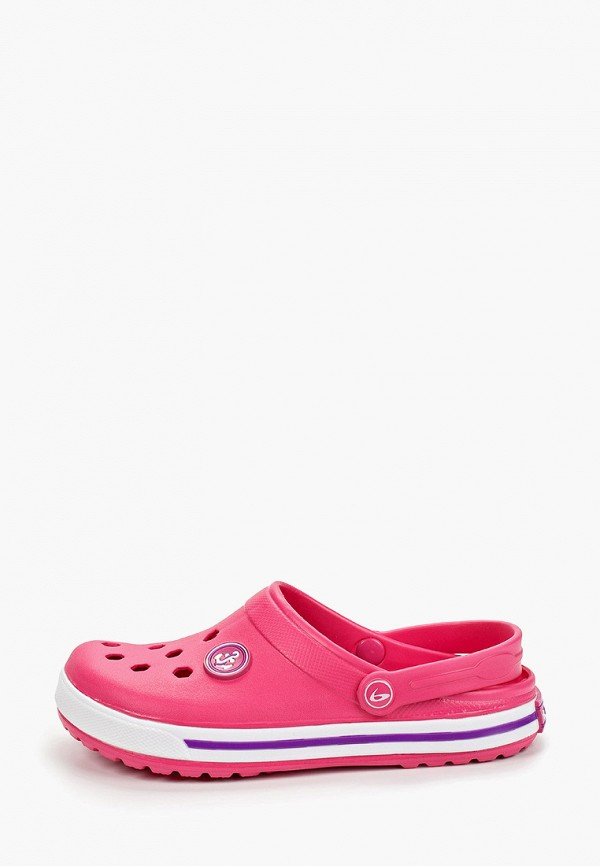 сабо beppi для девочки, розовое
