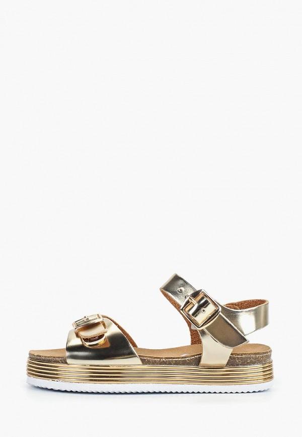 сандалии beppi для девочки, золотые