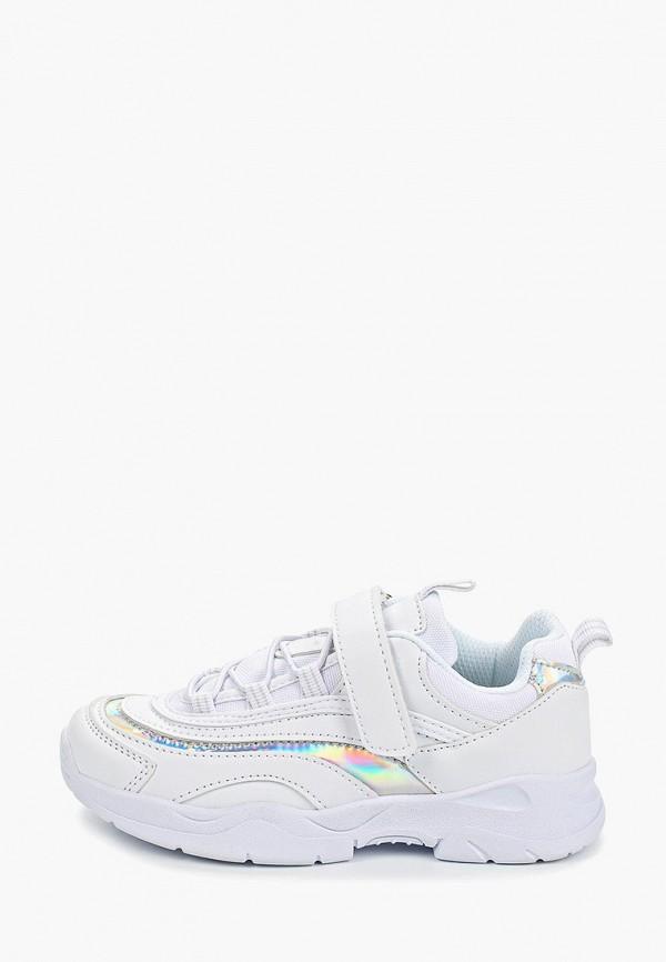 кроссовки beppi для девочки, белые