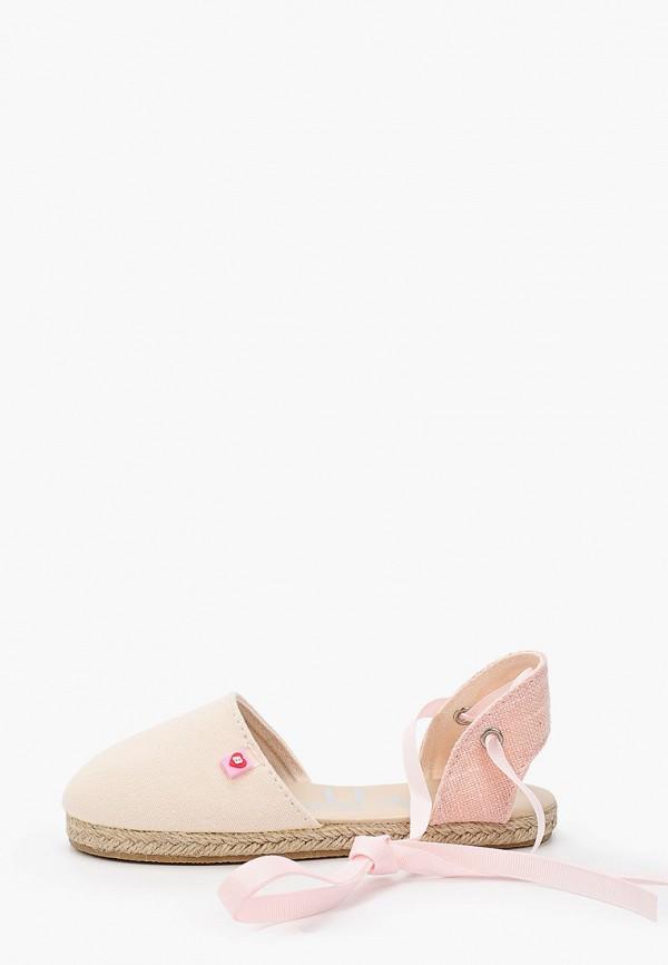 сандалии beppi для девочки, розовые