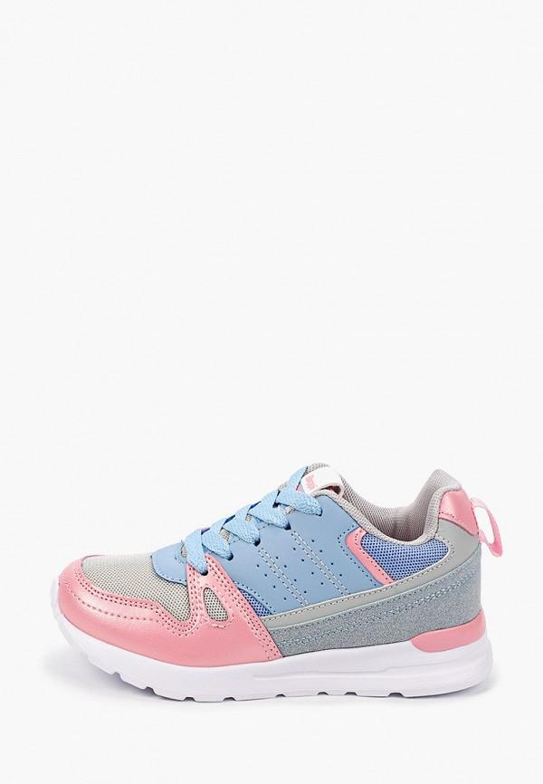 кроссовки beppi для девочки, голубые