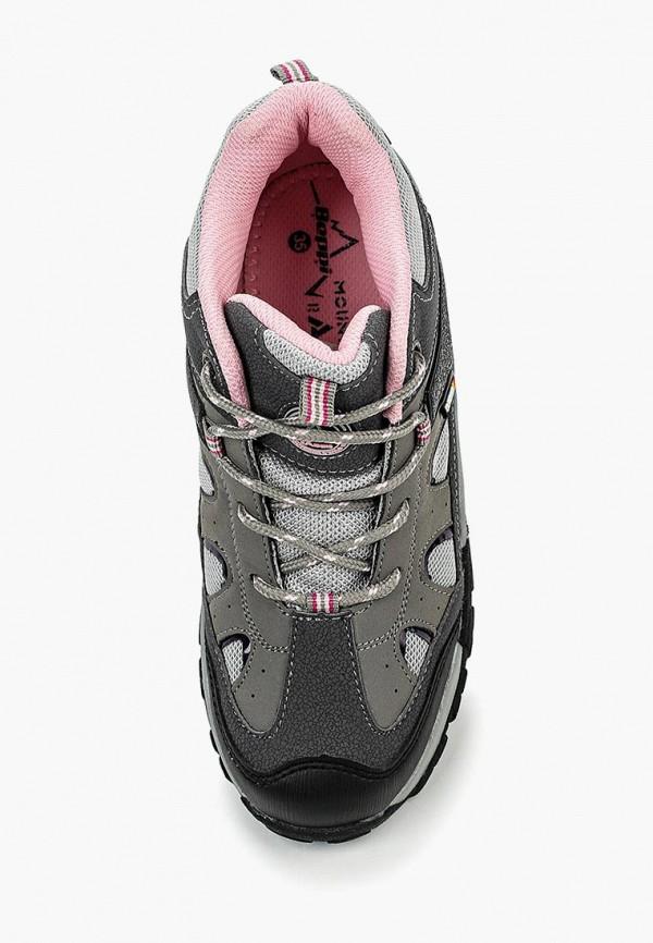 Фото 4 - Ботинки Beppi серого цвета