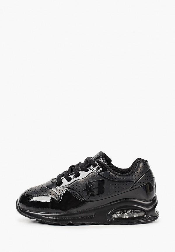 кроссовки beppi для девочки, черные
