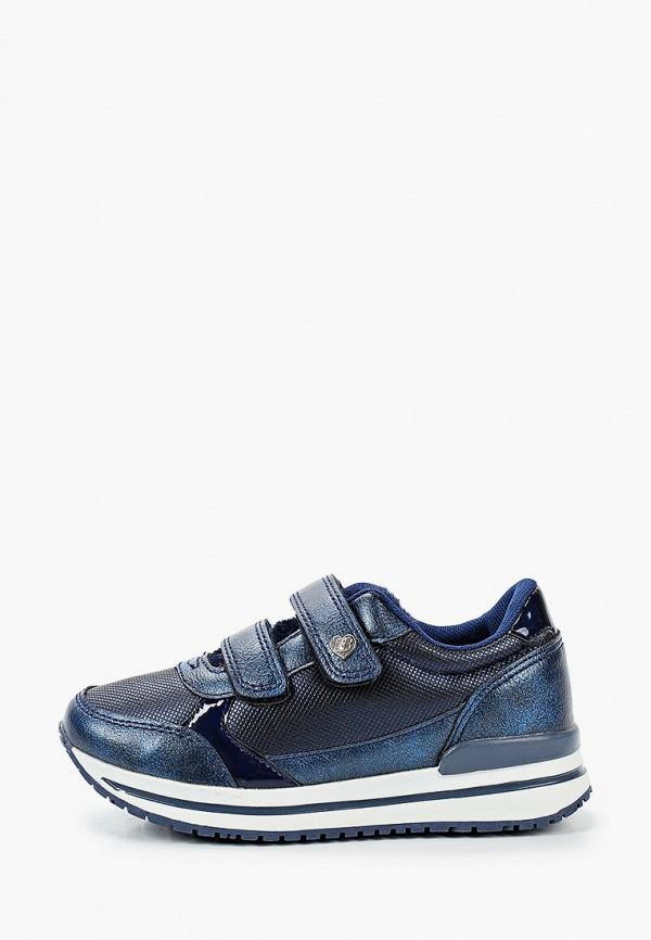 кроссовки beppi для девочки, синие