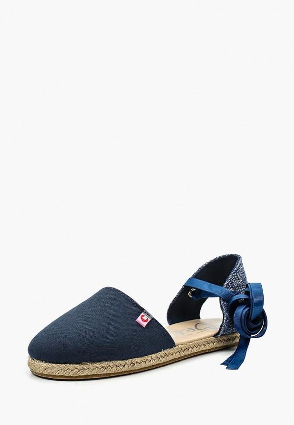 сандалии beppi для девочки, синие