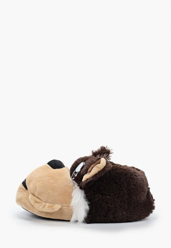 тапочки beppi малыши, коричневые