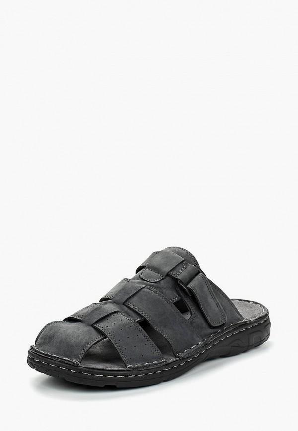 мужские сандалии beppi, серые