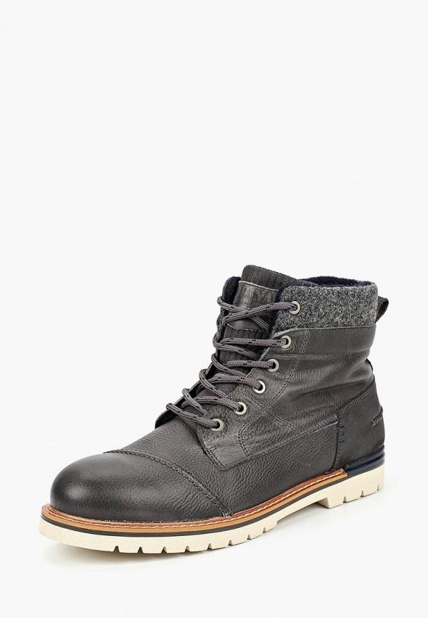 мужские ботинки beppi, серые