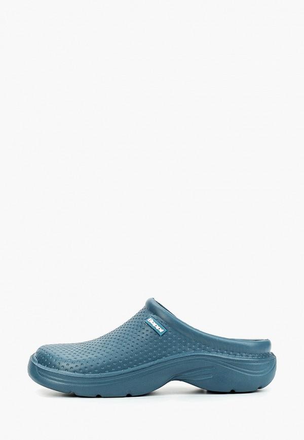 мужские сандалии beppi, голубые