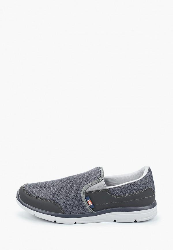 мужские кроссовки beppi, серые