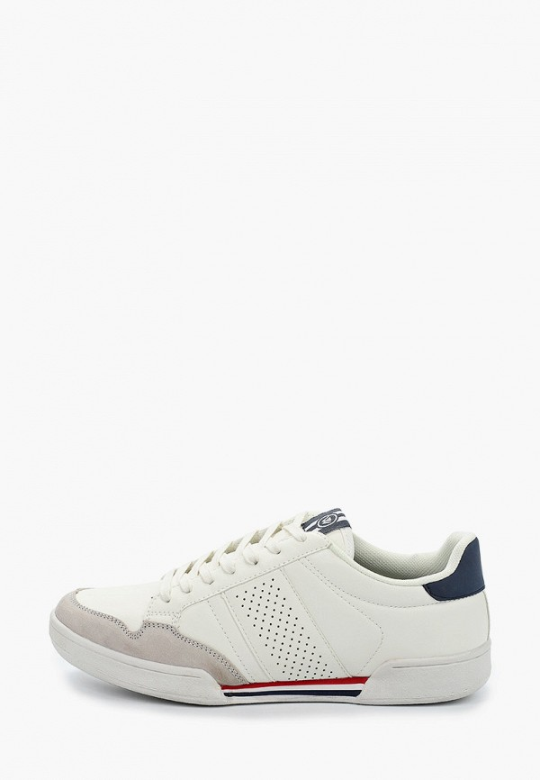 мужские кроссовки beppi, белые