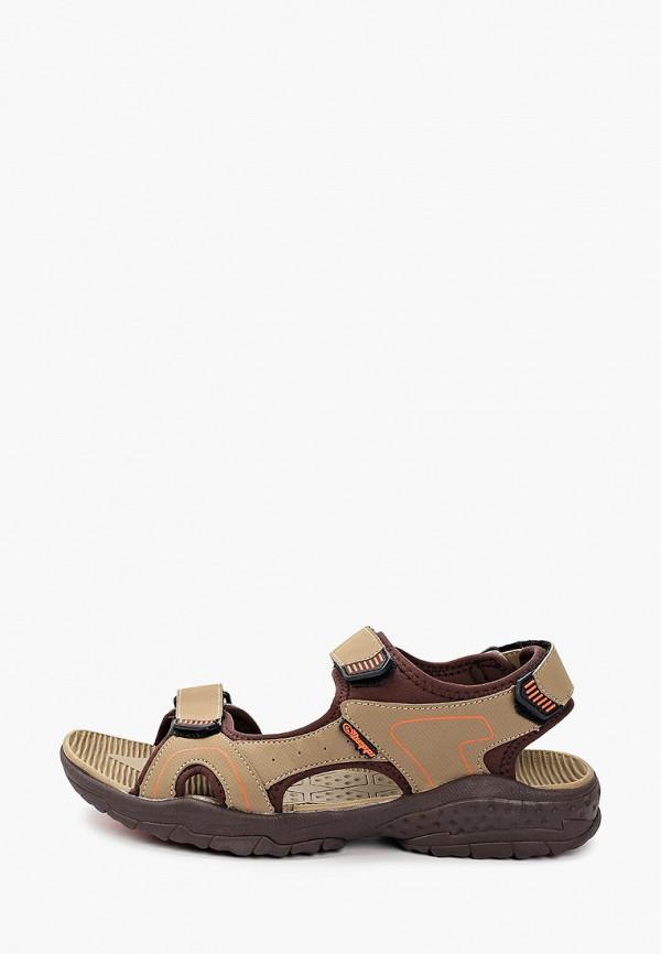мужские сандалии beppi, бежевые