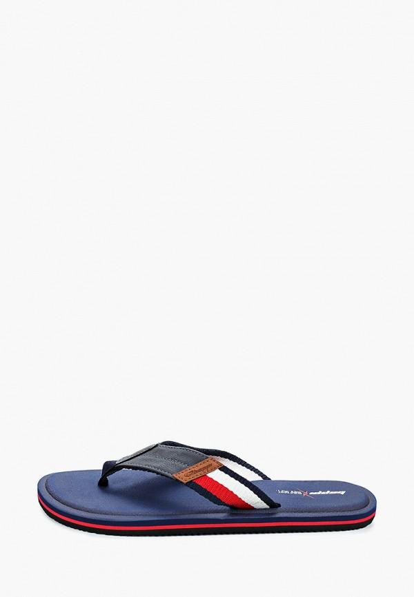 мужские сандалии beppi, синие